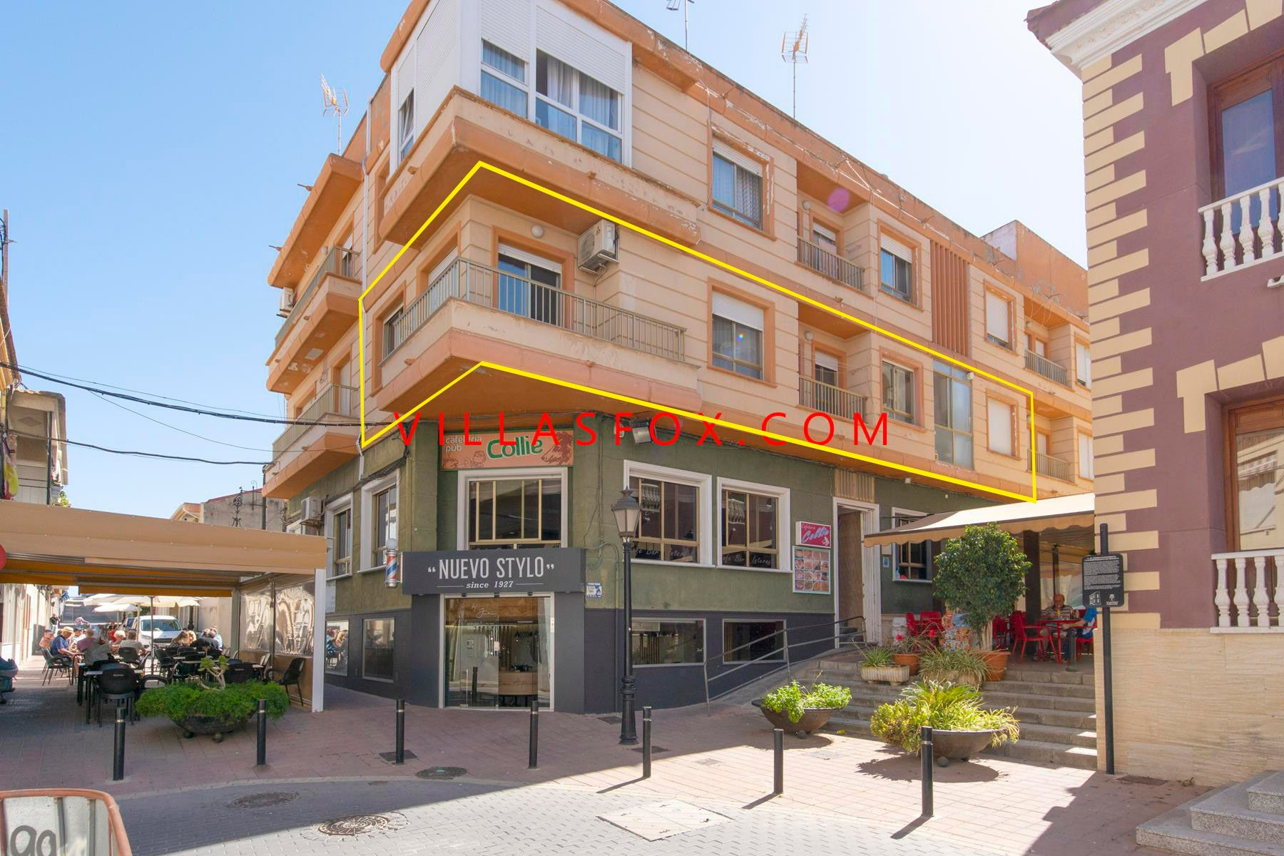 3-bedroom San Miguel town centre apartment with great views!
