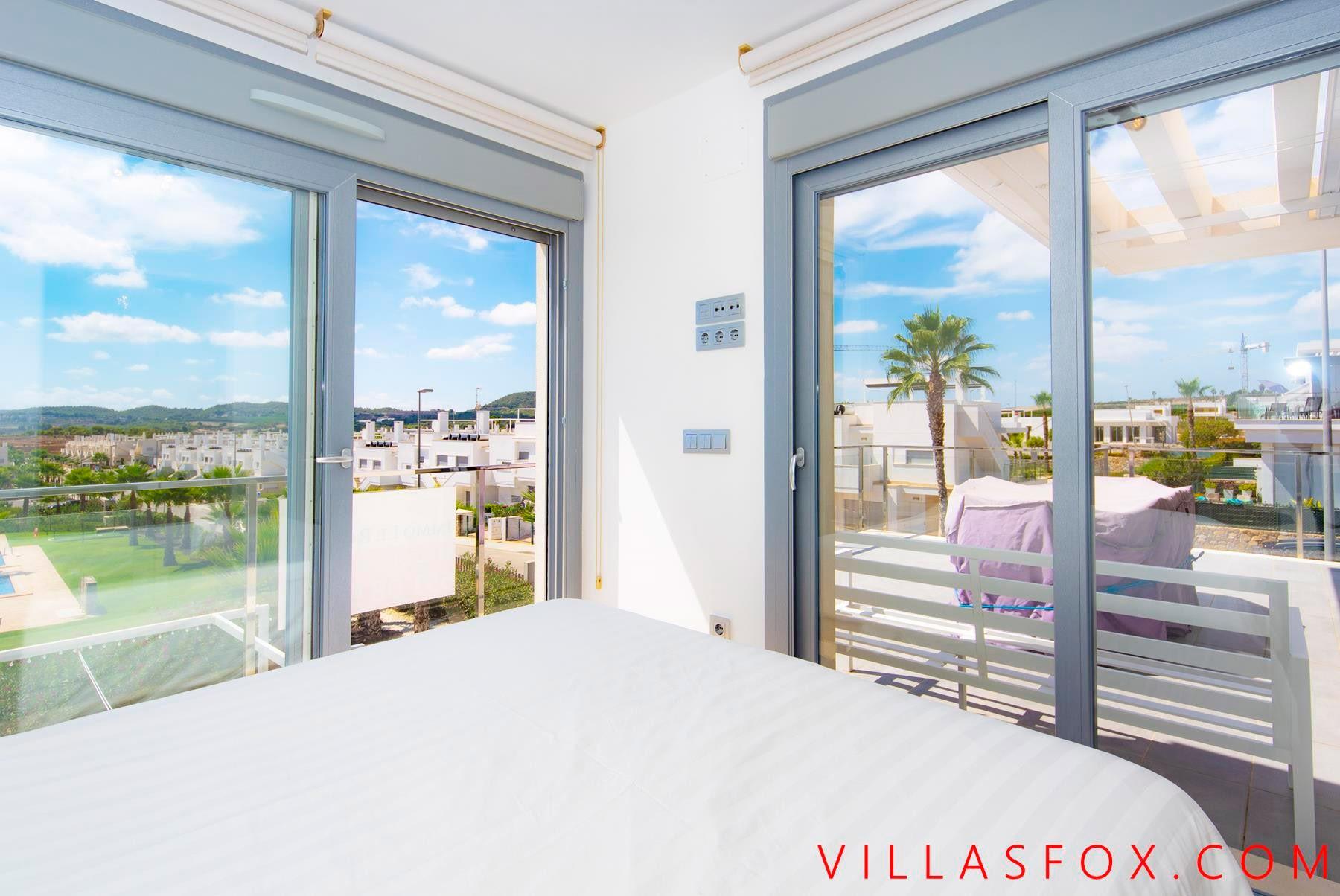 Vistabella Golf penthouse apartment with private solarium, 3 bedrooms, 2 bathrooms
