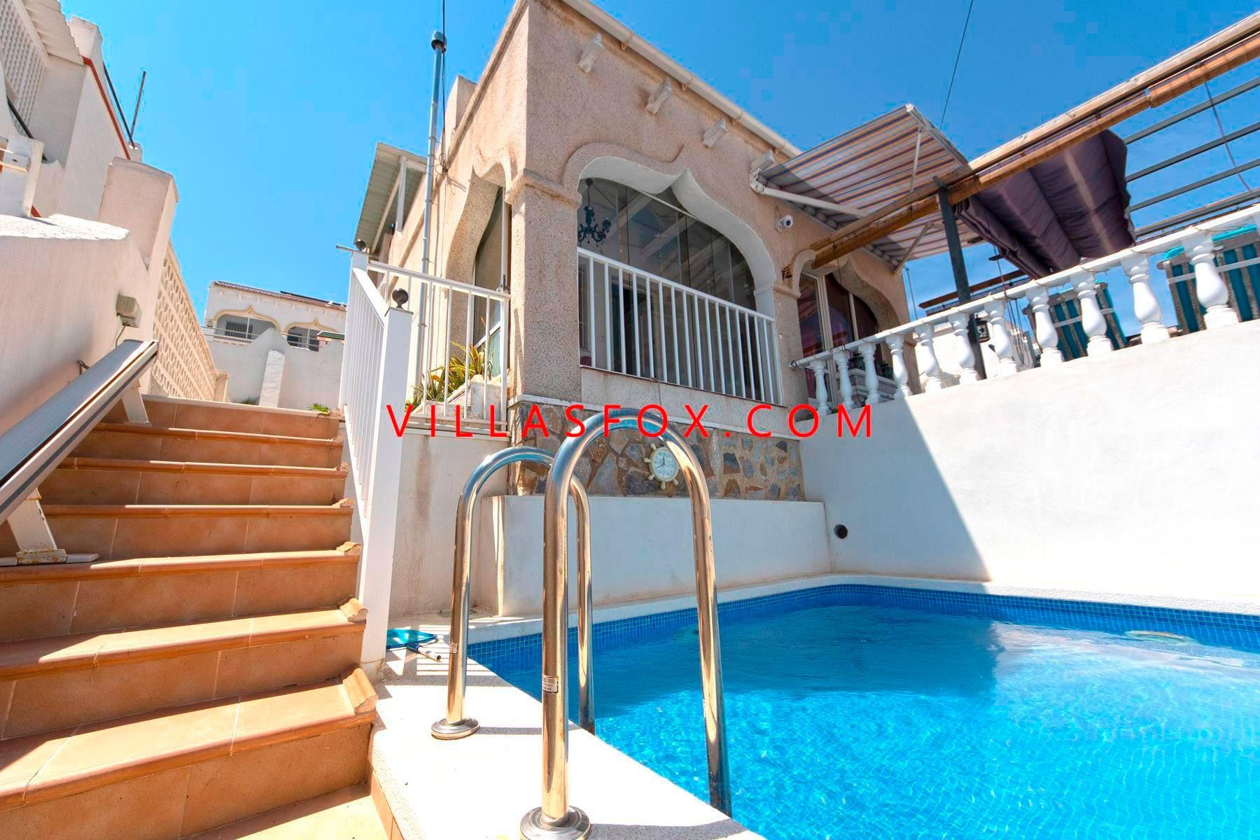 3-bedroom house with private pool and garage, Balcón de la Costa Blanca, San Miguel de Salinas