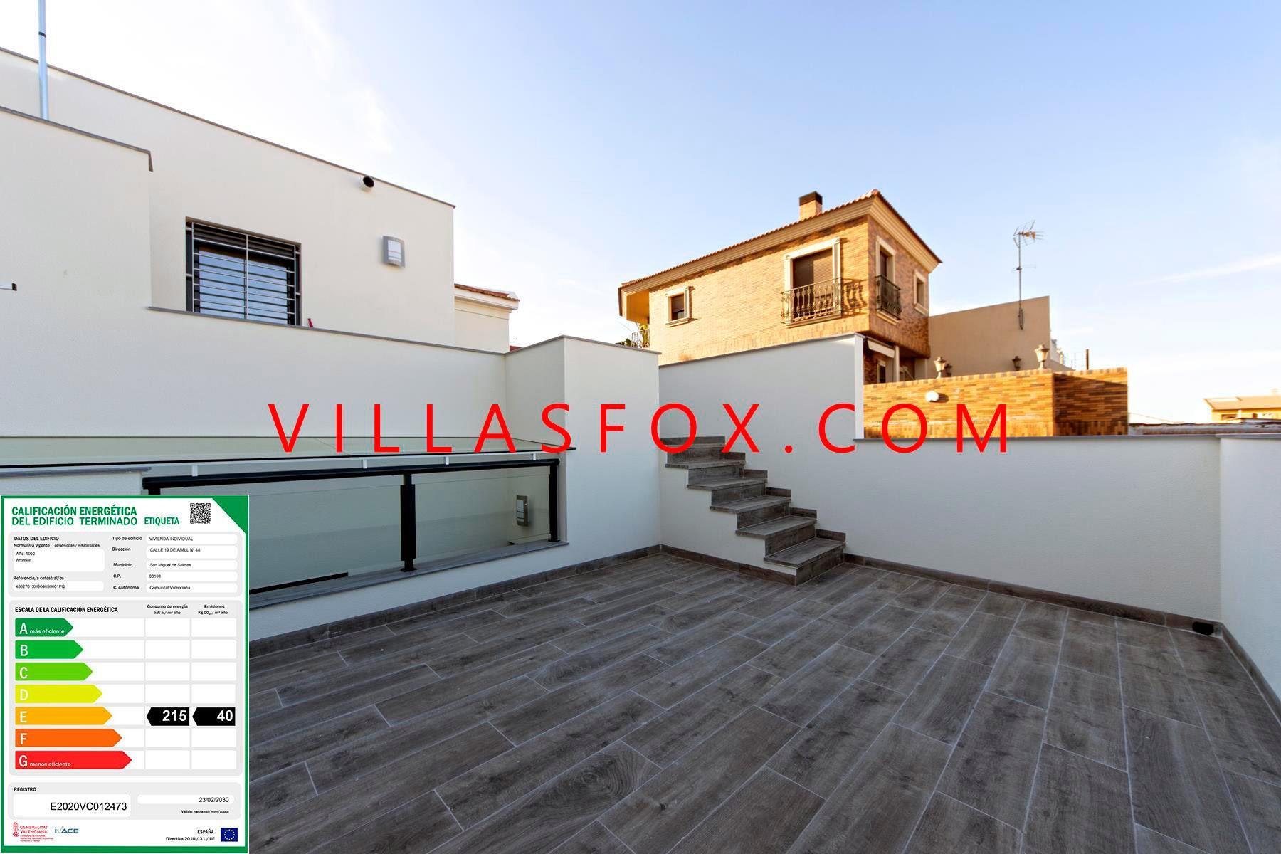 San Miguel de Salinas modernised house for sale town centre