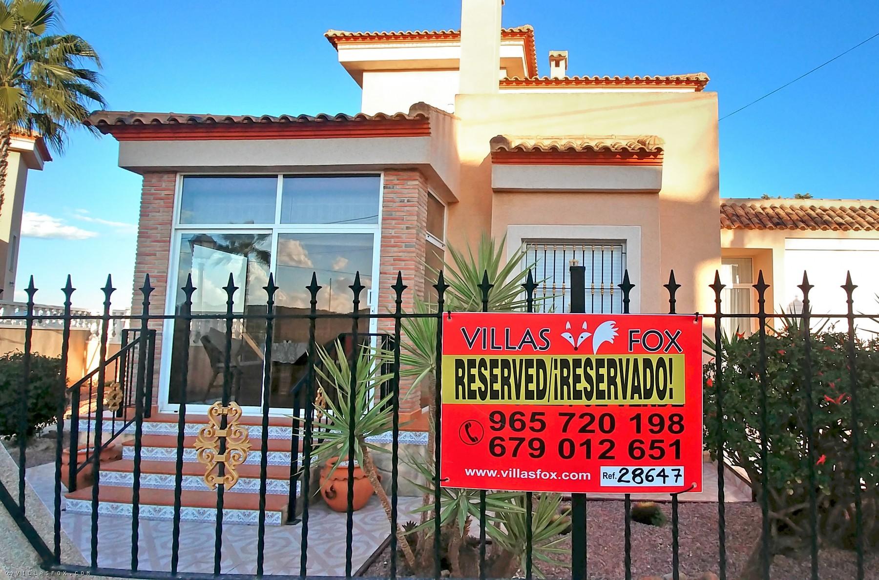 Superb Torrestrella 3-bedroom villa with private pool, great views, San Miguel de Salinas