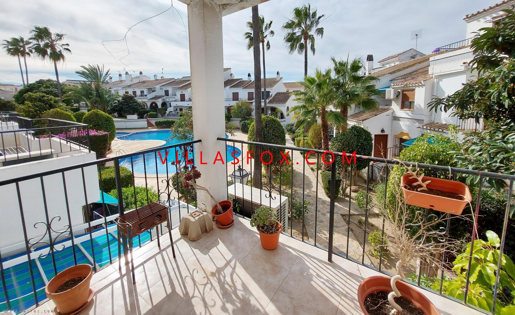 San Miguel de Salinas south-facing first-floor 2-bedroom apartment with sun terrace