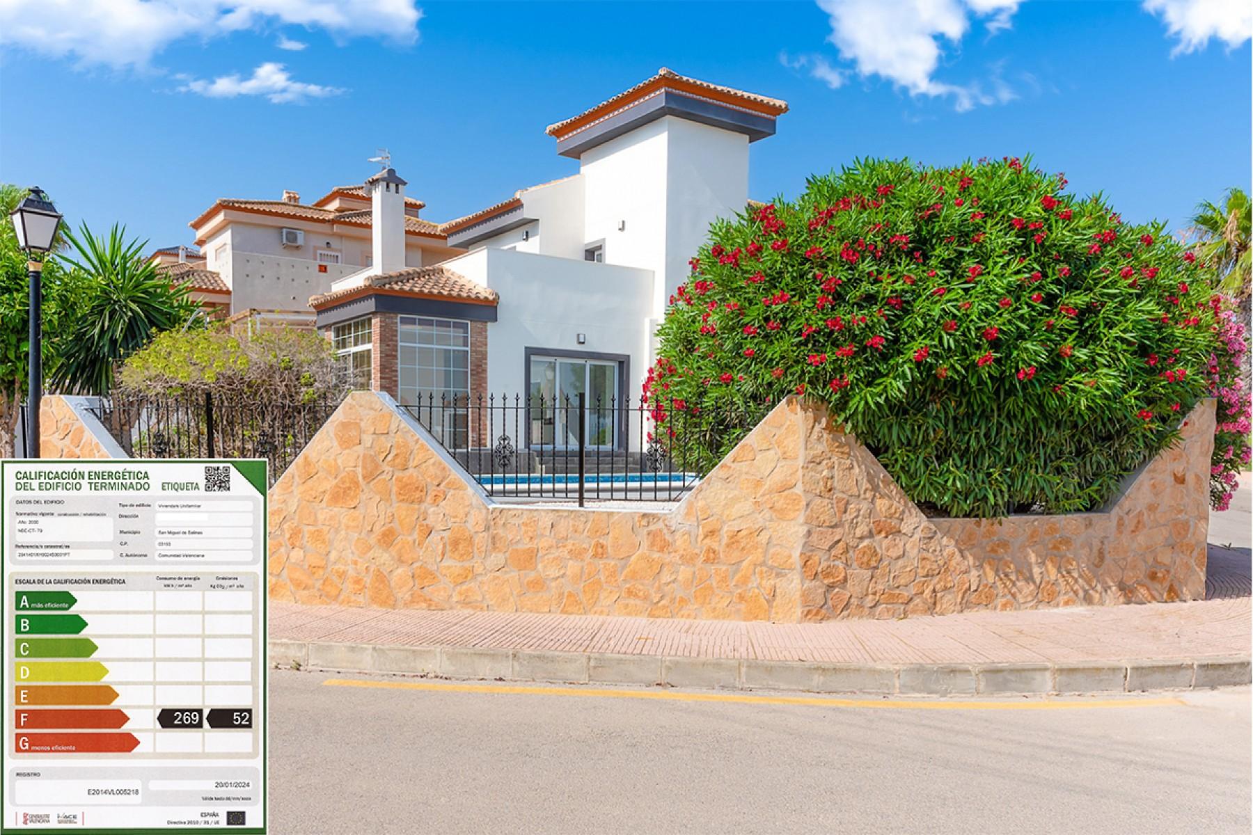 Villasmaría 3-bedroom detached villa, Las Comunicaciones, San Miguel de Salinas