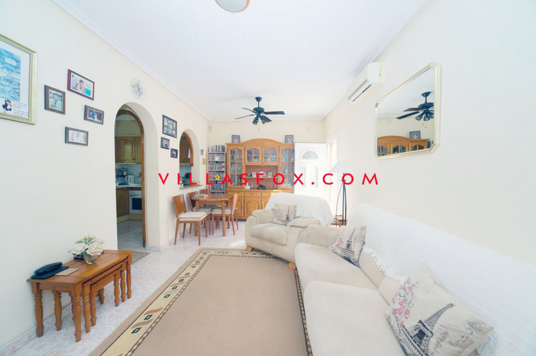 2-bedroom quad bungalow with solarium, garden and conservatory, Balcón de la Costa Blanca