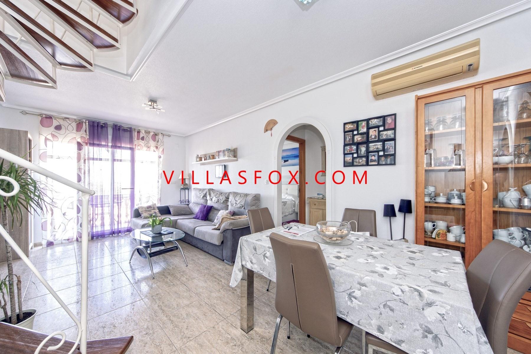 San Miguel de Salinas 1-bedroom apartment, top-floor with private solarium
