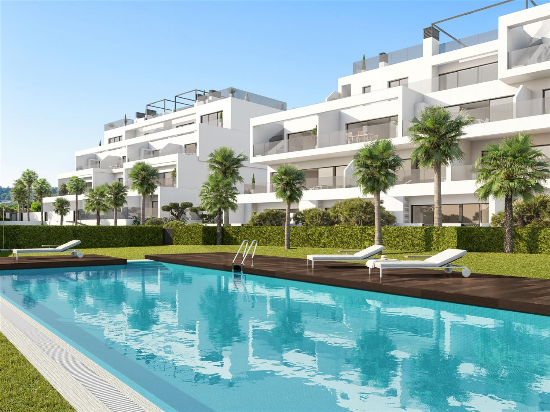 New-build 2-bedroom apartment in fantastic golf location, San Miguel de Salinas