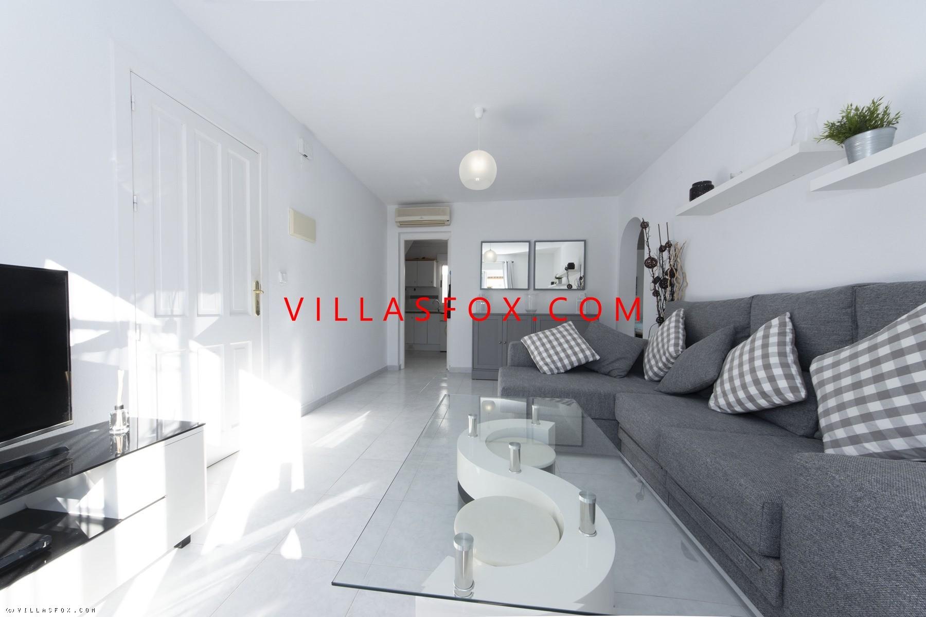 La Florida top-floor 3-bedroom apartment, Orihuela Costa