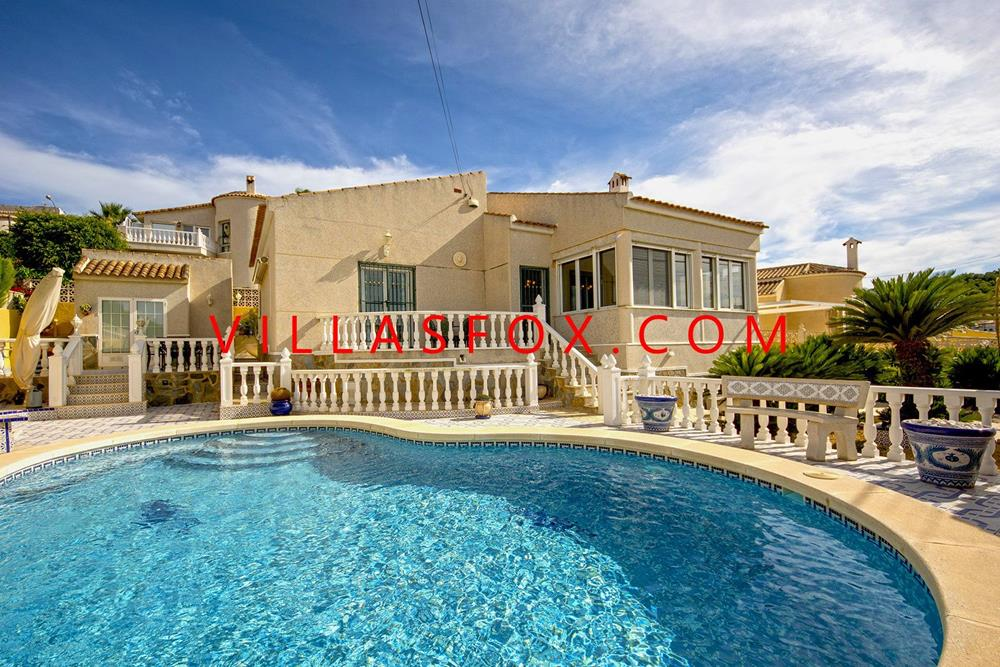 Las Comunicaciones 2-bedroom villa on one level with great views