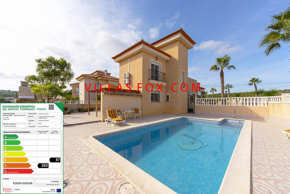 Superb Torrestrella 3-bedroom villa with private pool, great views, San Miguel de Salinas