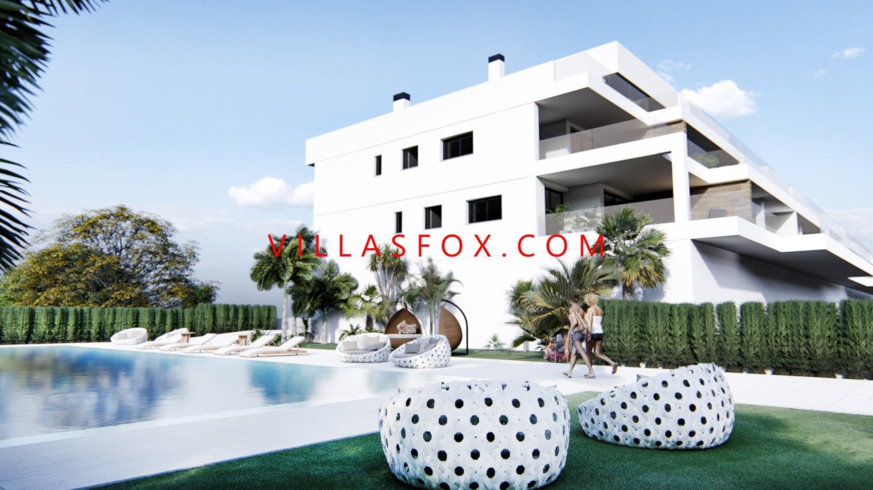 Villacosta new build apartments for sale