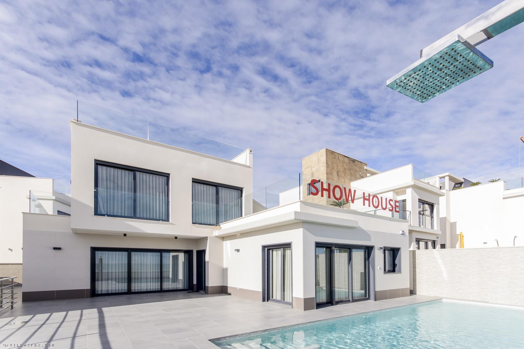 New-build 3-bedroom Penelope-model villas, Bellavista