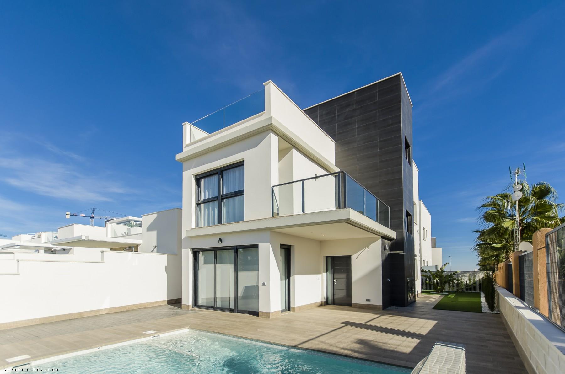 New-build 3-bedroom Lea-model villas, Bellavista