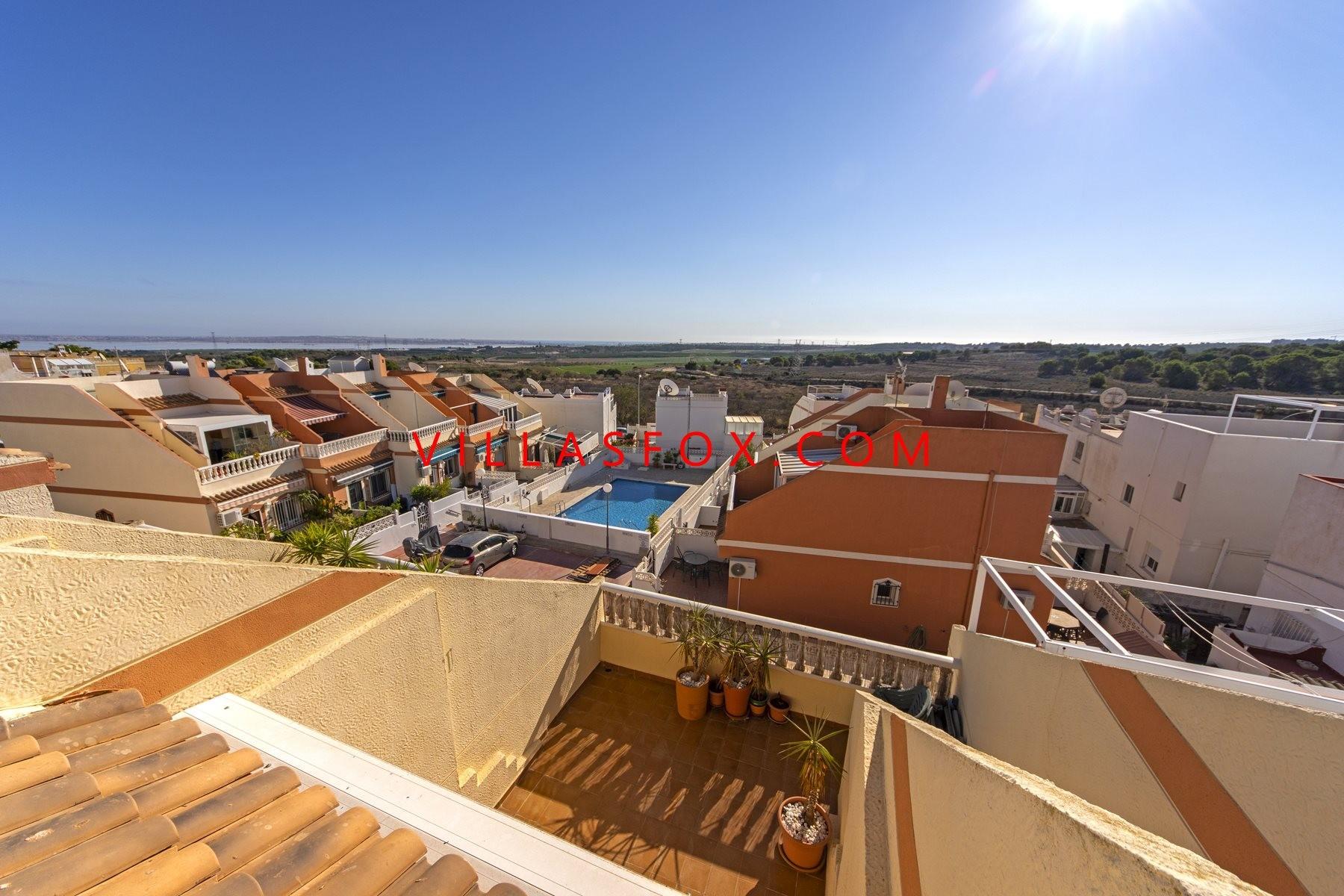 San Miguel de Salinas townhouse, Puerta Laguna I, Balcón de la Costa Blanca